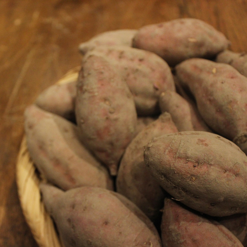 mumokuteki farmの安納芋をmumokuteki goods&wears京都店でお求めいただけます