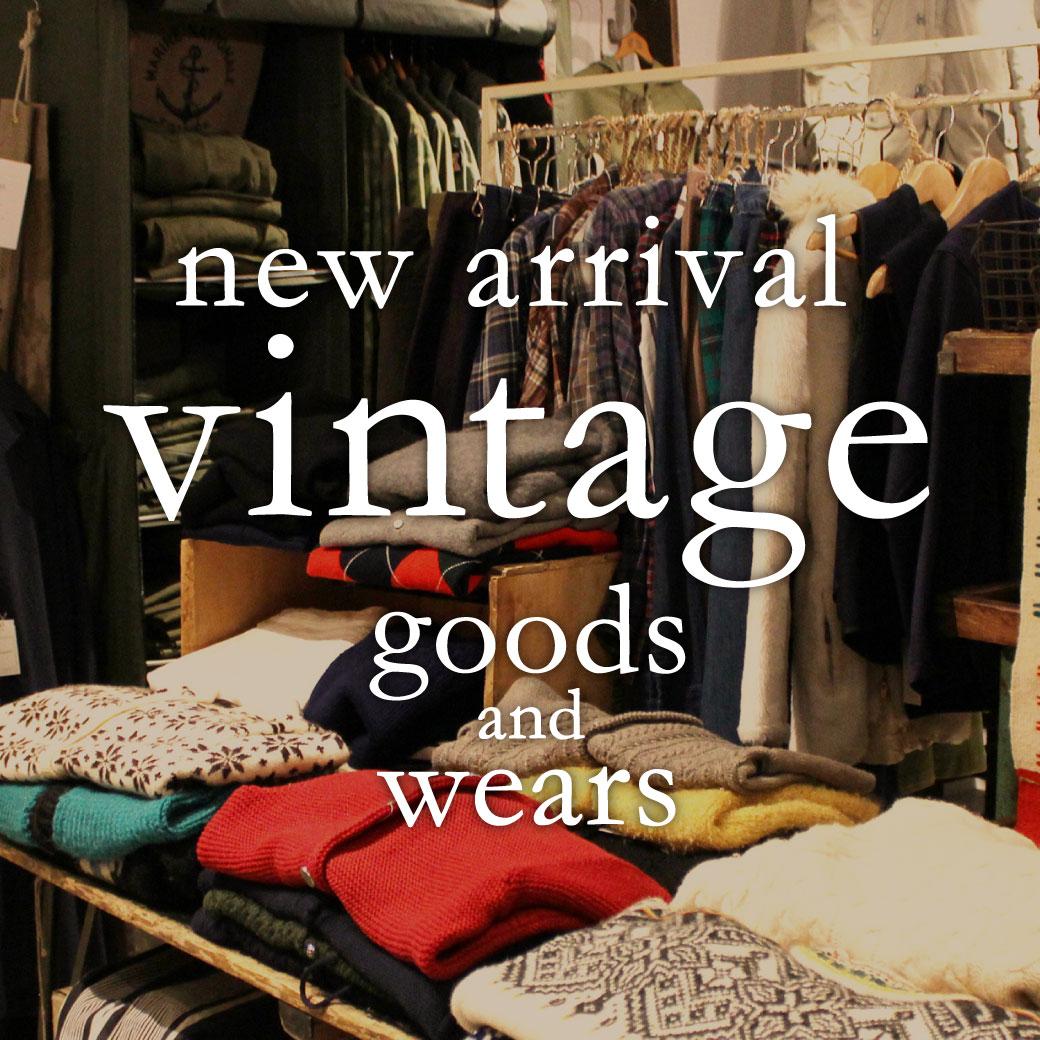 vintage goods&wears 新入荷