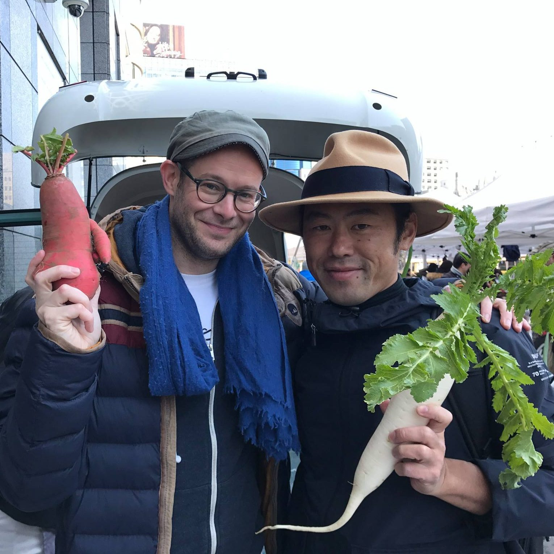 緊急開催イベント!「0円キッチン」の監督で主演のダーヴィド・グロスさん来京イベント!