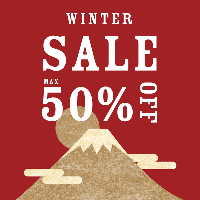 WINTER SALE MAX 50%OFF!