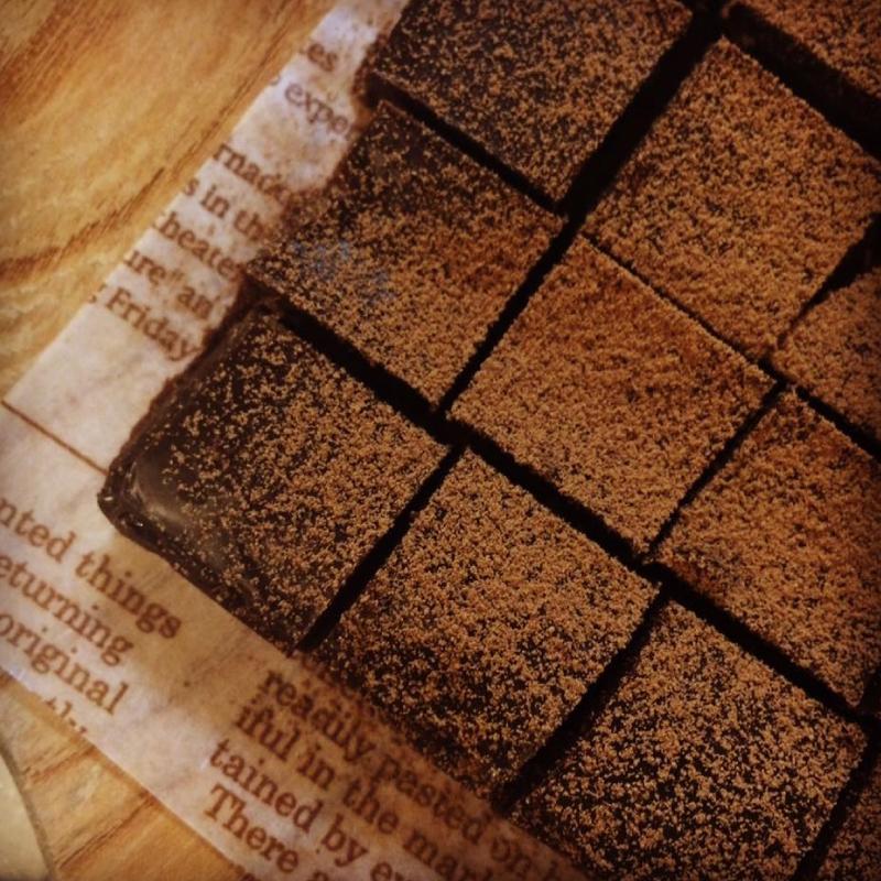 冬の生チョコレシピ講座