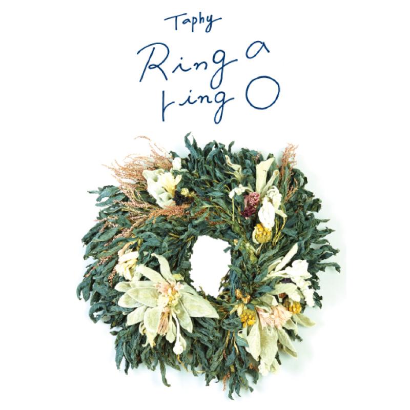 Taphy ドライフラワーリース展「Ring a ring 〇」