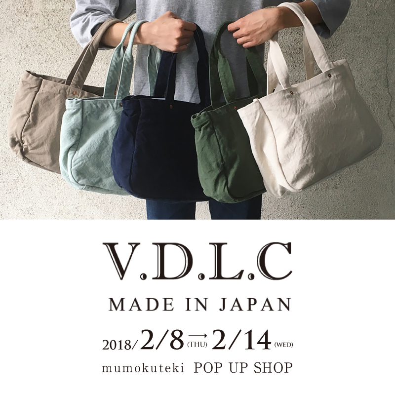 V.D.L.C mumokuteki POP UP SHOP