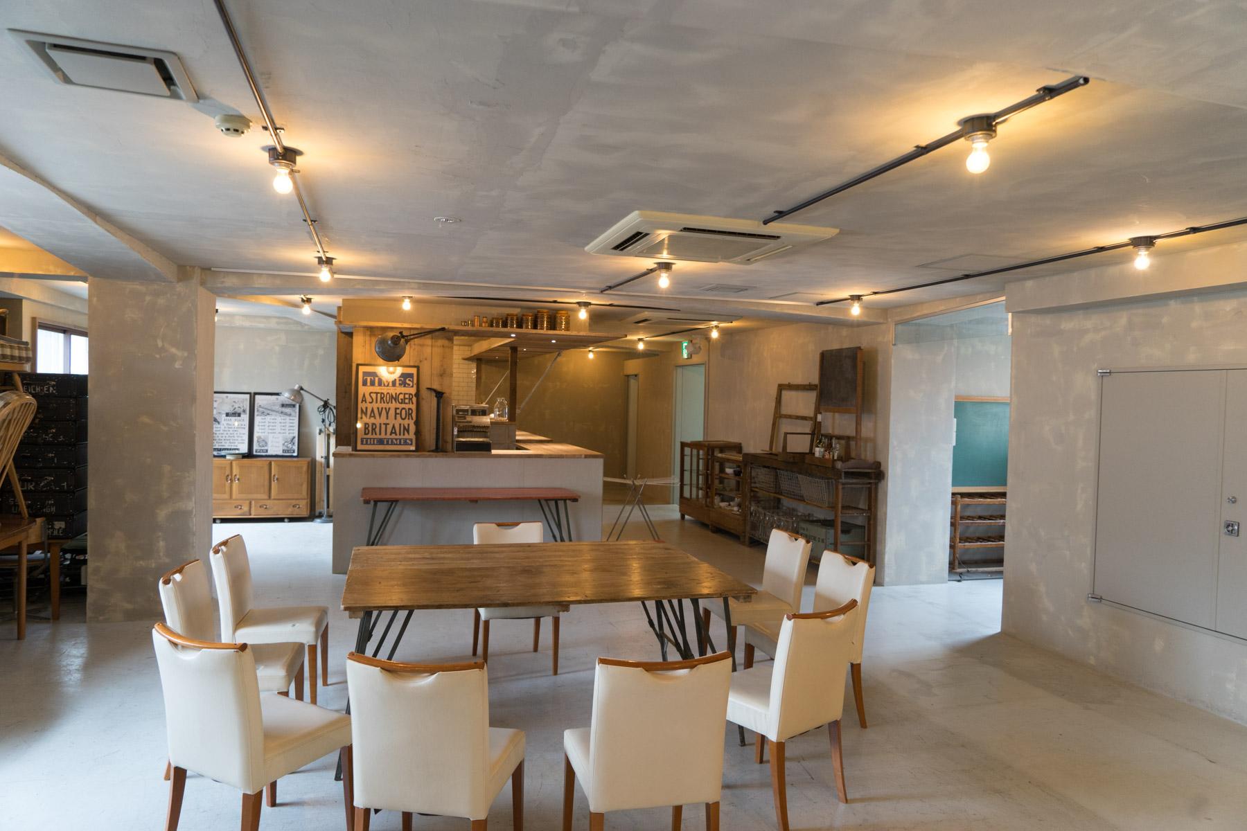 京都本店3階にて、多目的レンタルスペース(ホール)事業を開始しました。