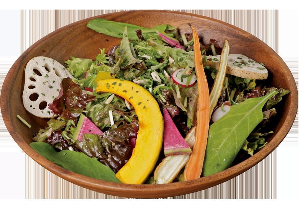 季節野菜のサラダボウル